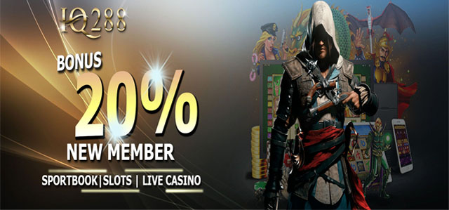 Welcome Bonus New Member 20%